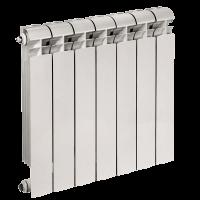 Радиатор биметалл Styl Plus 1 секция - 565х96х80, 0,19 литра, 198 Вт (шт.)